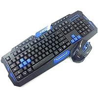 Kit Teclado e Mouse Gamer Wireless Hk8100 1000/1600 Dpi