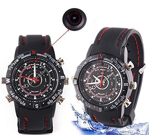 Electro-Weideworld - Cámara de 8 GB espía reloj de la cámara oculta reloj DV Mini DV videocámara del reloj DV 1280x960