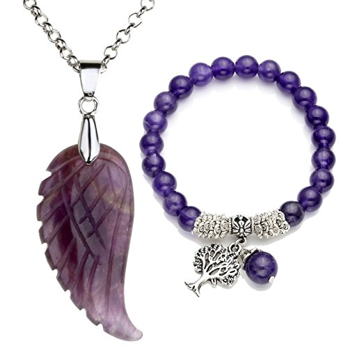 Top Plaza Reiki Healing Crystal Quartz Gemstones Jewelry for sale  Delivered anywhere in Canada