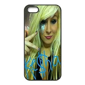 Printed Phone Case Ke$ha For iPhone 5, 5S NC1Q03121