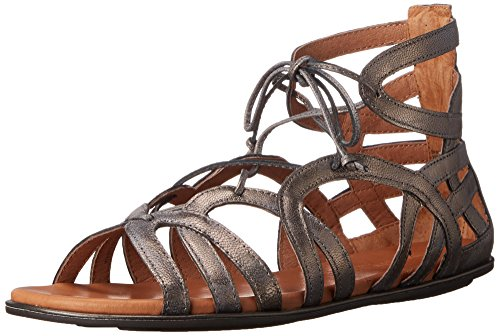 Kenneth Cole Gentle Souls by Kenneth Cole Break My Heart Gladiator Sandal in Metallic Leather price tips cheap