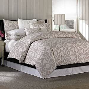 Amazon Com Barbara Barry Poetical Mesa Duvet Cover Queen