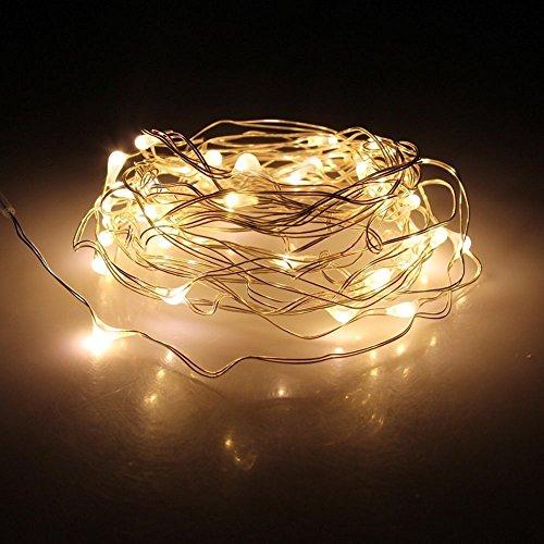 ANJAYLIA LED Fairy String Lights, 10Ft/3M 30leds Firefly Str
