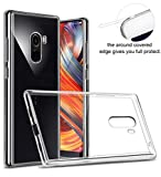 Febelo Ultra Thin Perfect Fitting Transparent Silicon Back Cover for Xiaomi Mi Mix 2