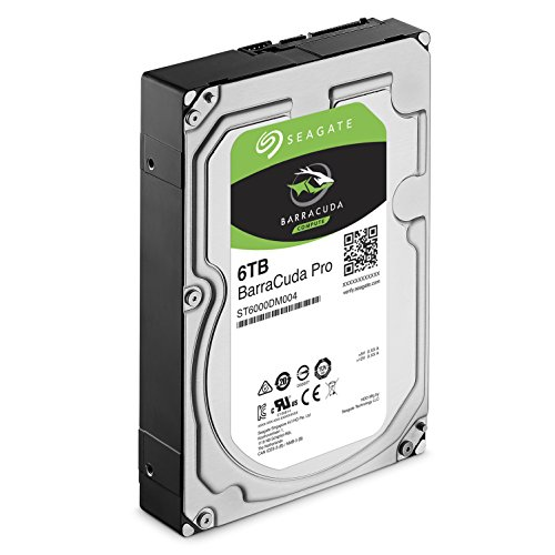 Seagate 6TB BarraCuda Pro 7200RPM SATA 6Gb/s 256MB Cache 3.5-Inch Internal Hard Drive (ST6000DM004) by Seagate (Image #2)