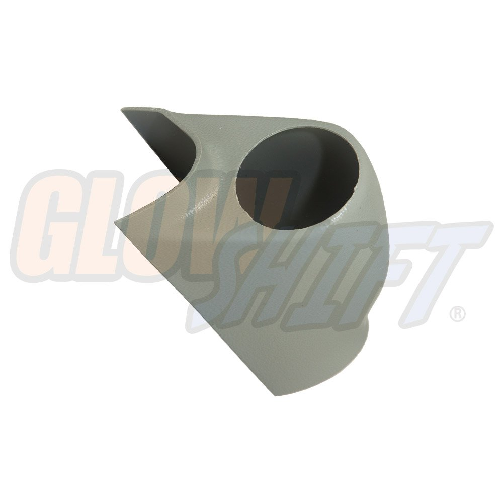 GlowShift 1999-2007 Ford Super Duty PowerStroke Gray Single Pillar Pod GlowShift Gauges GS-115G