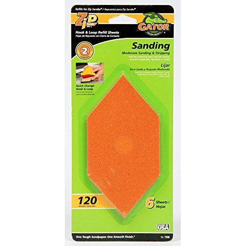 Gator Finishing 7206 Step-2 Zip Sander Refill Sandpaper