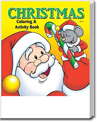 christmas kids coloring activity book in bulk