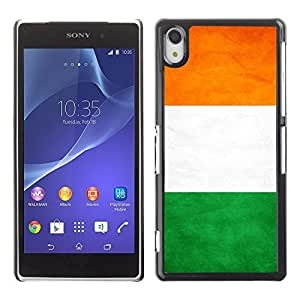 Shell-Star ( National Flag Series-Ivory Coast ) Snap On Hard Protective Case For SONY Xperia Z2 / D6502 / L50W