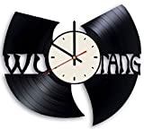 The Wu Tang Clan vinyl record wall clock American