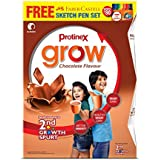 Protinex Grow - 400 g (Chocolate) with Free (Faber Castell Sketch Pen Set 15)