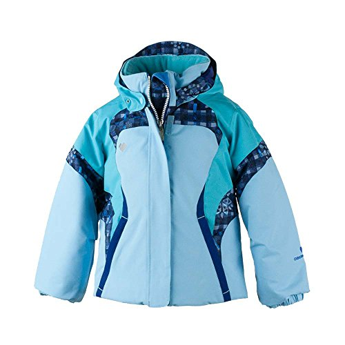 Obermeyer Kids Baby Girl's Alta Jacket (Toddler/Little Kids/Big Kids) Bleu Sky 8 by Obermeyer Kids