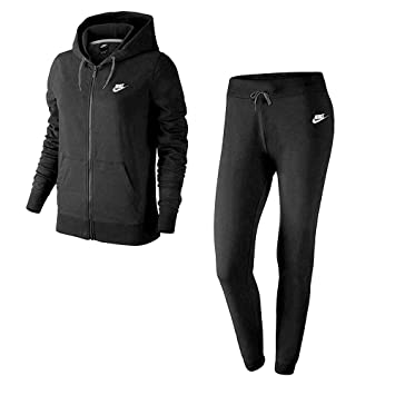a5a129721d29 Nike NSW W TRK Suit FLC - Survêtement pour Femme  Amazon.fr  Sports ...