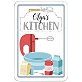 "Olga's Kitchen Sign - 12"" x 18"" (30.5cm x 45.7cm) offers"