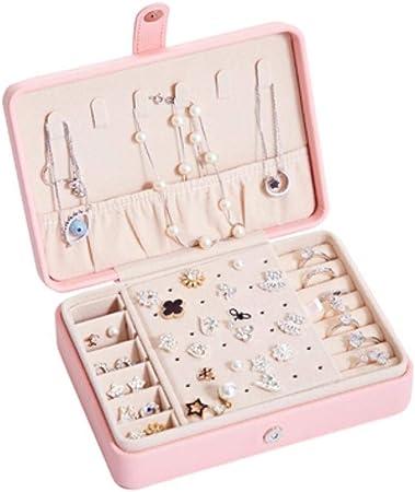 Cula Caja de joyería Botones para Joyas, Organizador de Maquillaje, Anillos, Caja de Viaje: Amazon.es: Hogar