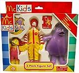 McDonald's McKids 3 Pack Figures Grimace, Birdie And Ronald