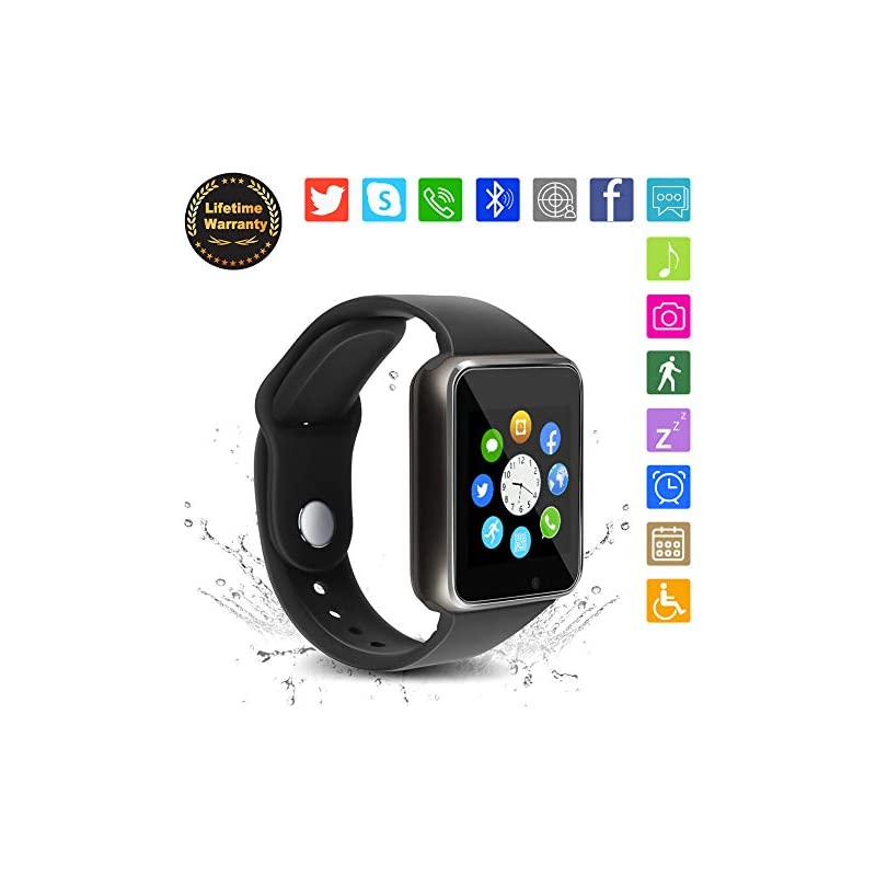 Bluetooth Smart Watch - WJPILIS Touch Sc