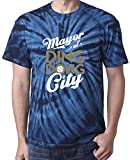 """The Silo TIE DIE NAVY Milwaukee Shaw """"Ding Dong City"""" T-Shirt"""