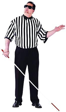 Amazon.com  FunWorld Men s Please Blind Referee Costume 30d759d9d