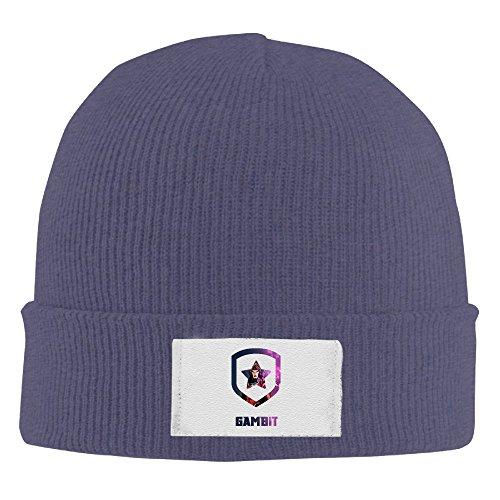 Unisex Beanie Hat-Gambit Navy