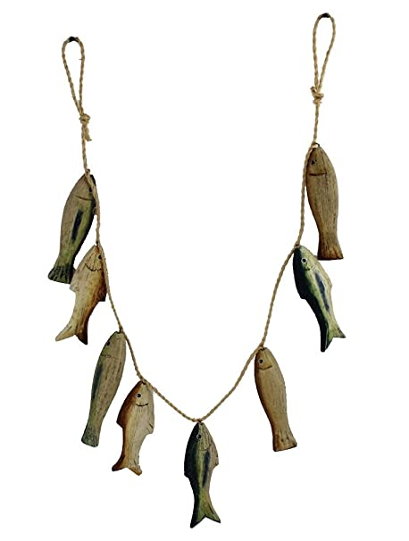 8 pc de peces diseño de animales marinos de Katrina revenaugh de diseño de madera para