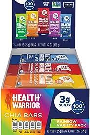 HEALTH WARRIOR Chia Bars, Acai Berry, Gluten Free, Vegan