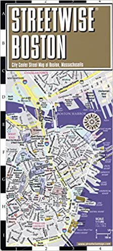 Streetwise Boston Map Laminated City Center Street Map of Boston