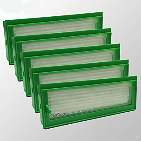5 pieza filtro HEPA Allergie Filtros de repuesto para aspiradoras Vorwerk Kobold VR200 VR 200 Robot aspirador: Amazon.es: Hogar