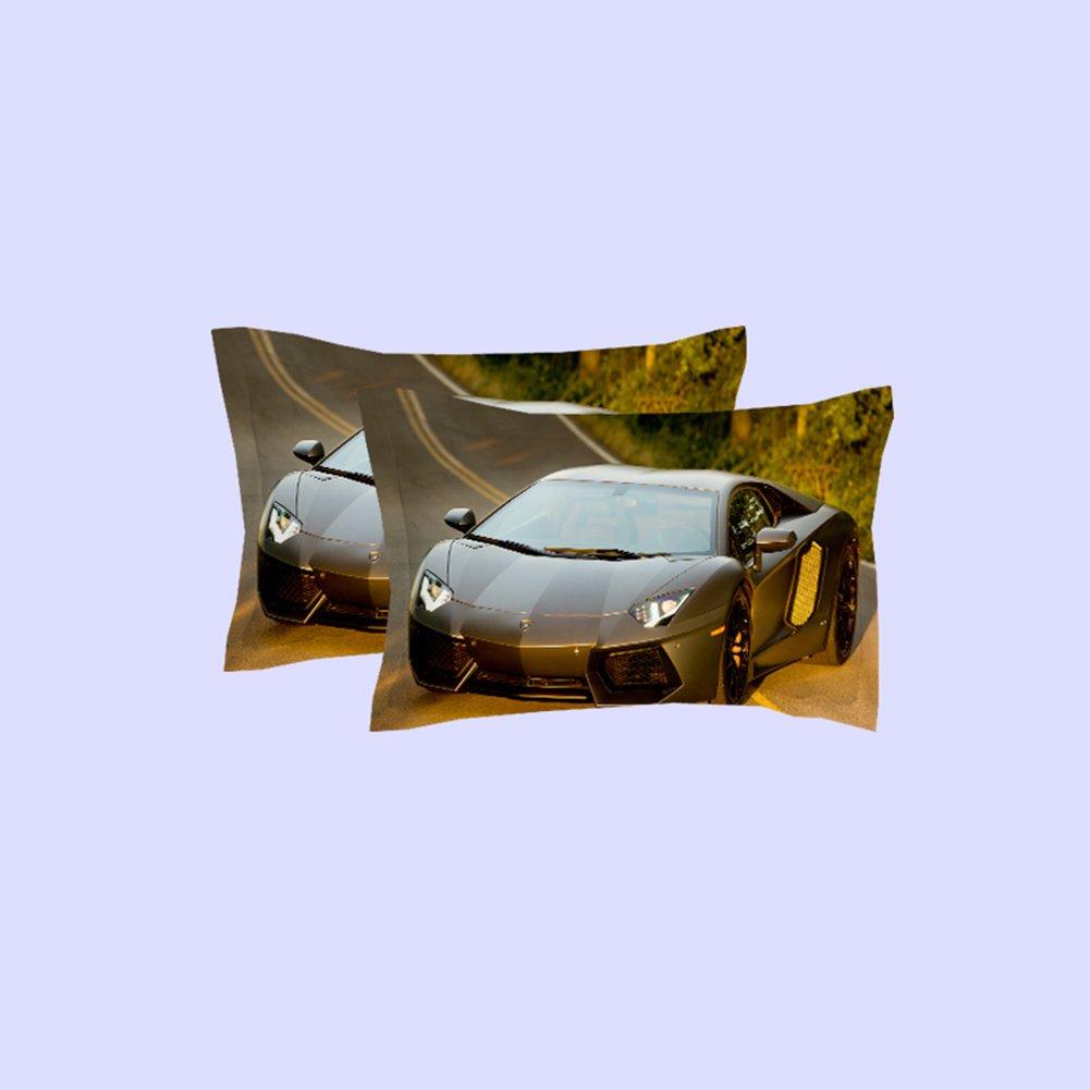 Amazon.com: Leoonline Sport Car Series Duvet Cover Set,Children Comforter Set,Fashion Bedding Set for Boys&Girls---Soft&Comfortable,Durable ...