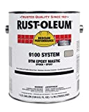 Rust-Oleum 9168402 Tile Red High Performance V9100 System Low VOC Dtm Epoxy Mastic Paint, 1 gal, 1 fl. oz. Can (Pack of 2)