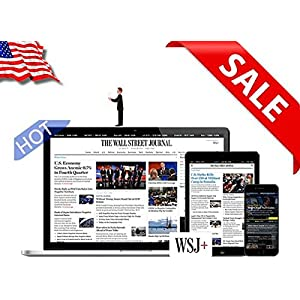The Wall Street Journal WSJ Newspaper - 1 Year Digital