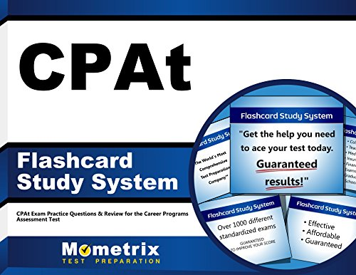 CPAt Flashcard Study System: CPAt Exam Practice Questions & Review for the Career Programs Assessment Test (Cards)