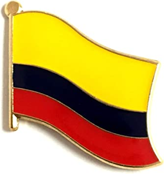 Colombia Flag Lapel Hat Pin FAST USA SHIPPING