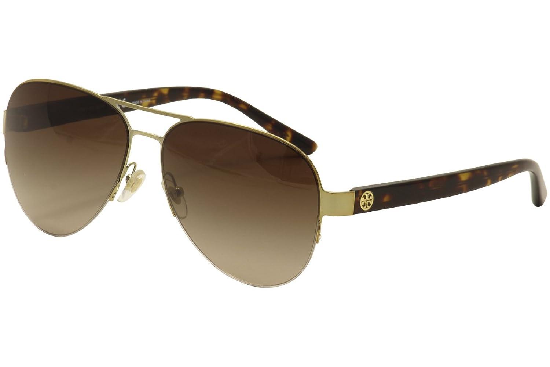 618b917cd666 Amazon.com: Tory Burch Sunglasses TY 6010 GOLD 362/13 TY6010: Tory ...