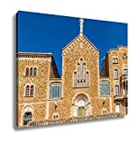 Ashley Canvas Architecture Of Barcelona Spain, Home Office, Ready to Hang, Color 20x25, AG6536236