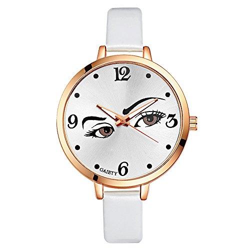 Rockyu ブランド 人気 レディース 女性 サファイアガラス 海外ブランド 目 レディース時計