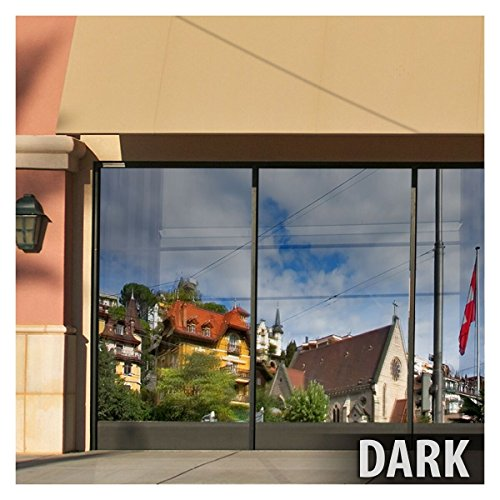 BDF S15 Window Film One Way Mirror Silver 15 (Dark) - 60in X 100ft by Buydecorativefilm (Image #3)