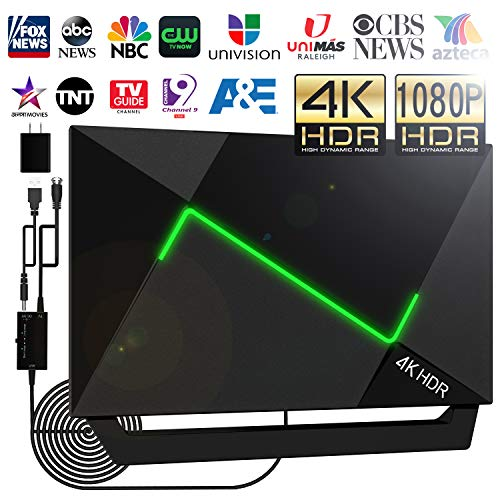 Buy Bargain [Upgraded 2020] 138+Miles HD TV Antenna Amplified- 4K HDR HDTV Antenna Indoor/Outdoor An...