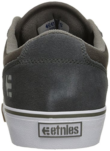 White Men's Grey Barge LS Skate Gum Shoe Etnies xpdfwYqq
