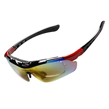 Aili Polarizado Deportes Mens Gafas De Sol para Esquí De ...