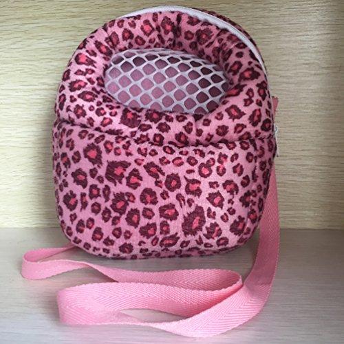 [해외]Angeka 작은 애완 동물 캐리어 가방 어깨 스트랩과 동물 퇴근 가방 고슴도치 햄스터에 대한 휴대용 여행 핸드백 배낭 마우스 쥐 슈거 글라이더 Squi/Angeka Small Pet Carrier Bag Animal Outgoing Bag with Shoulder Strap Portable Travel Handbag...