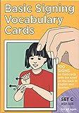Basic Signing Vocabulary Cards Set C (GP036) (Sign Language Materials)