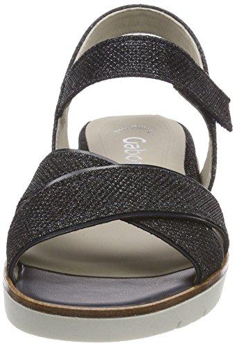 Gabor Women's Basic Ankle Strap Sandals Blue (Nightblue/Ocean) AYfmD