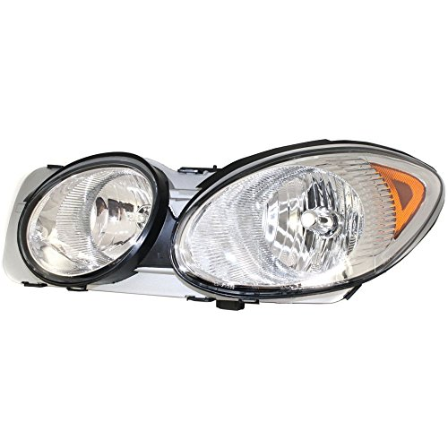 Headlight for LACROSSE ALLURE 05-07 Assembly Halogen w/Bulb(s) Driver Side