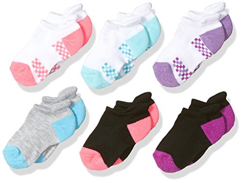 fruit-of-the-loom-girls-no-show-6-pack-sock-assorted-4-85