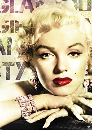Marilyn Monroe Favorite Color - Pyramid America Marilyn Monroe Glamour Color Giant Poster 39x55 inch
