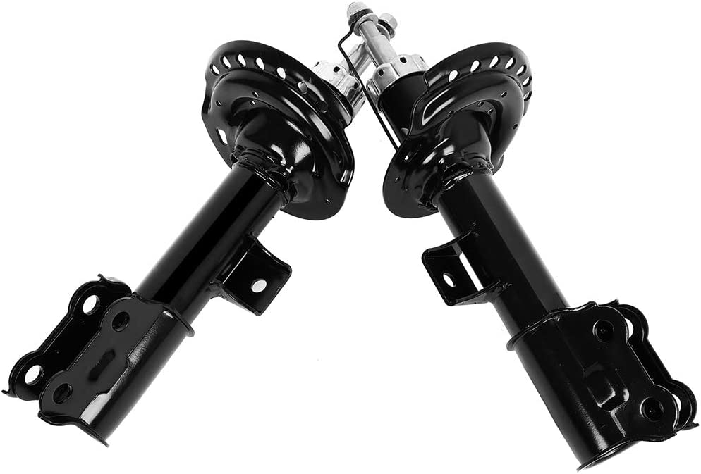 FEIPARTS Shocks 2x Front shock absorber struts fit for 2011 2012 2013 2014 2015 2016 for Hyundai Elantra,2013 2014 for Hyundai Elantra Coupe 333618 72709 333617 72708
