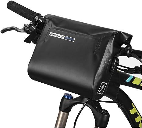 Men bag,Bolsa de bicicleta Manillar de bicicleta Paquete de hombro ...