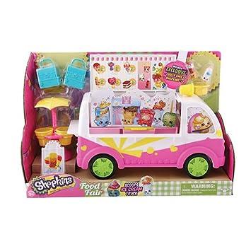 Amazon.com: Shopkins S3 Scoops Ice Cream Truck: Toys & Games