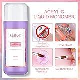 Saviland Acrylic Liquid Monomer - 8 OZ Professional